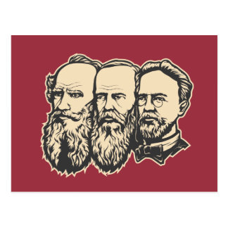 Russian Troika postcard