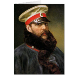 Russian Tsar Alexander II Greeting Card