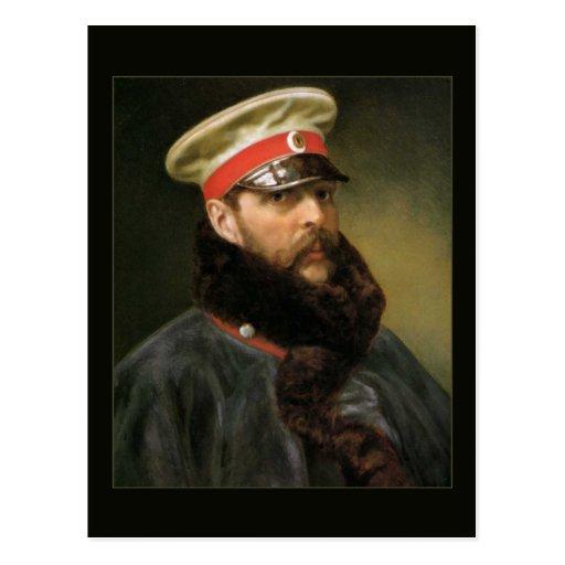 Russian Tsar Alexander II Post Card