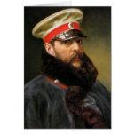 Russian Tsar Alexander II Stationery Note Card