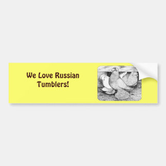Russian Tumblers 1984 Bumper Sticker