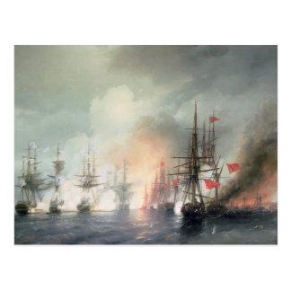 Russian-Turkish Sea Battle of Sinop Postcards