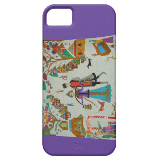Russian Village in Winter iPhone 5 Case-Mate