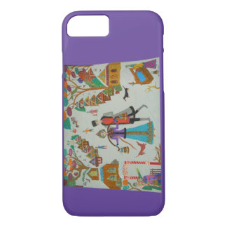 Russian Village in Winter iPhone 7 Case