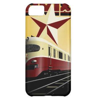 Russian Vintage Communist Railway Poster iPhone 5C Case