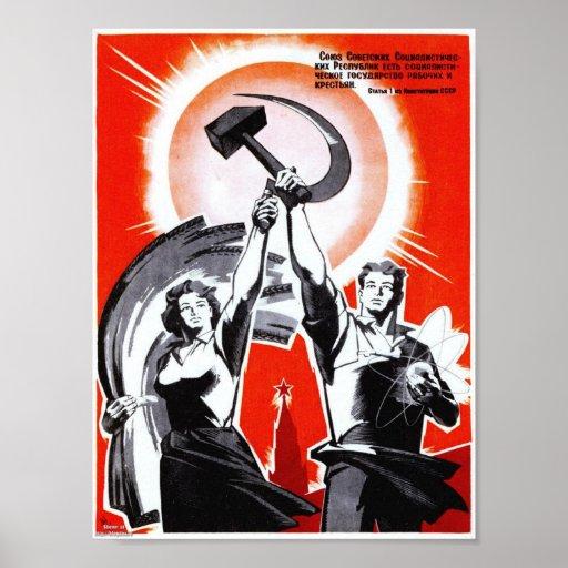 Vintage Propaganda Poster 96