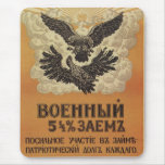 Russian Vintage Propaganda Poster Mouse Pads