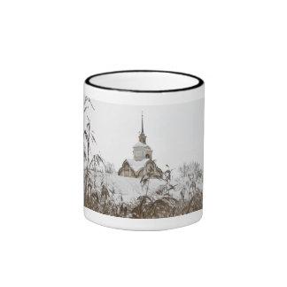 Russian winter coffee mugs