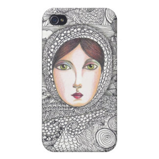 russian woman iPhone 4 cases