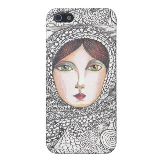 russian woman iPhone 5/5S covers