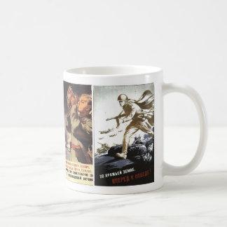 Russian WWII Posters Classic White Coffee Mug