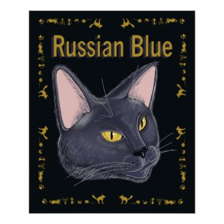RussianBlue print