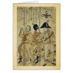 Russians by  Nagasaki,  Bunkindo,  Ukiyoe Card