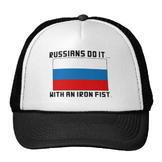 Russians Do It... With An Iron Fist Trucker Hat