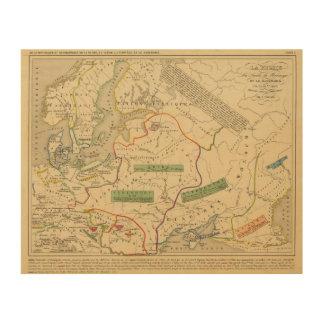 Russie, ante, Norwege Impresiones En Madera