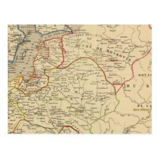 Russie, Pologne, ante, Norwege, Danemarck Postal
