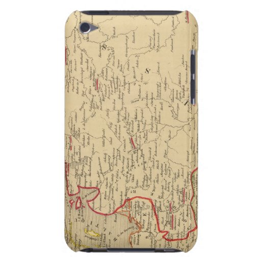 Russie, Pologne, ante, Norwege, en 1840 de Danemar Case-Mate iPod Touch Cárcasa