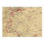 Russie, Pologne, ante, Norwege, en 1840 de Danemar Tarjeta Postal