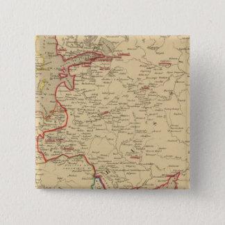 Russie, Pologne, Suede, Norwege, Danemarck en 1840 Button