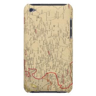 Russie, Pologne, Suede, Norwege, Danemarck en 1840 Case-Mate iPod Touch Case