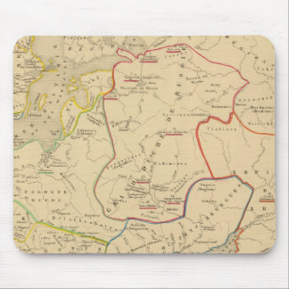 Russie, Suede, Norwege 2 Mouse Pad