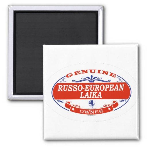 RUSSO-EUROPEAN LAIKA_ MAGNETS