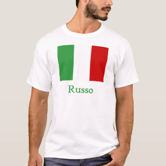 Russo Italian Flag T-Shirt