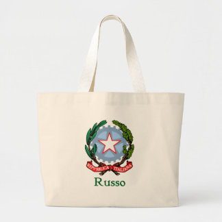 Russo Republic of Italy Large Tote Bag