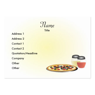 Russo Rosa Pizzeria Business Card