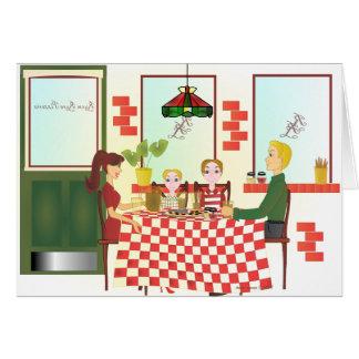 Russo Rosa Pizzeria II Card