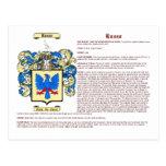 Russo (significado) tarjeta postal