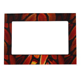 Rust Agate Magnetic Photo Frame