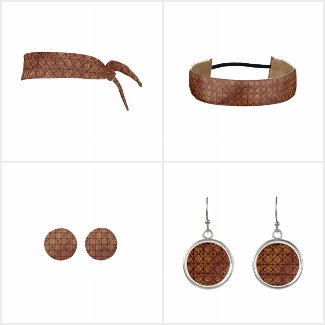 Rust and Gold Headbands and Accessories