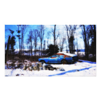 Rust and Snow Photographic Print