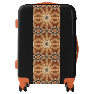 Rust-Art, mandala-style-rust, mandala Luggage