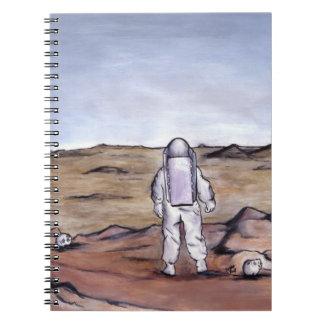 Rust Coloured Soil Spiral Notebooks