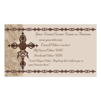 Rust Cross Introduction Card