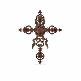 Rust Cross Sculpture
