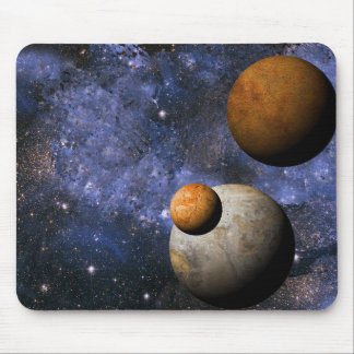 Rust Deep Space Planet Mouse Pad