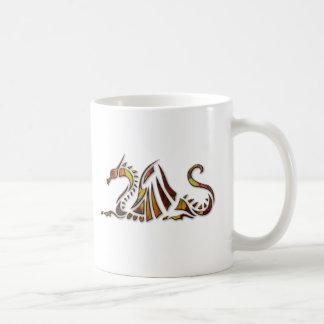 Rust Dragon Coffee Mug