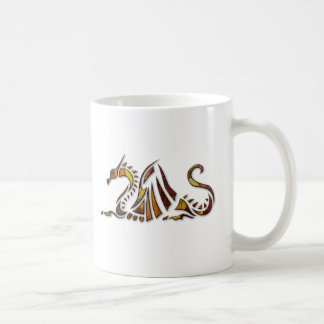 Rust Dragon Classic White Coffee Mug