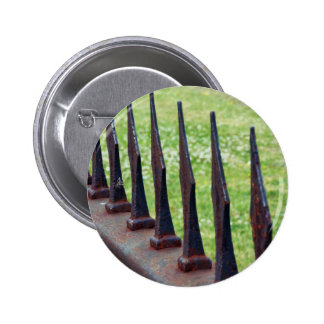 Rust Fence Pins