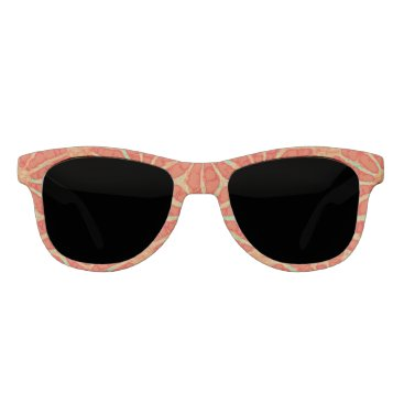 Beach Themed Rust Green enigma 4Charles Sunglasses
