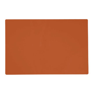 Rust High Quality Colored Laminated Place Mat