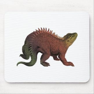 Rust & Khaki Hylaeosaurus Dinosaur Mouse Pad