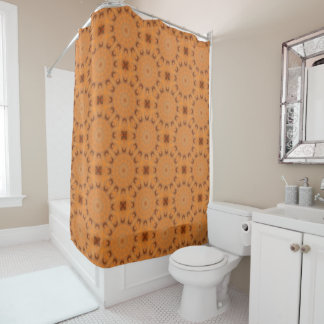 rust colored shower curtains zazzle