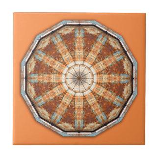 Rust-Mandala, Colors of Rust Tile