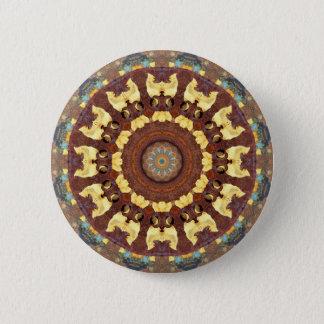 Rust-Mandala, ROSTart 785 Pinback Button