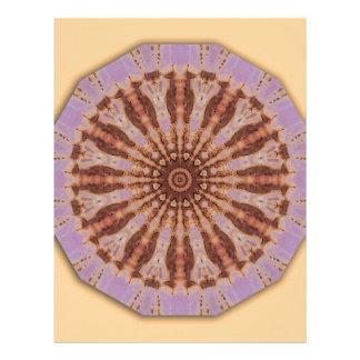 Rust-Mandala - ROSTart Letterhead