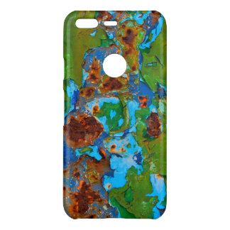 Rust Metal Peeling Paint Grunge Funny Decay Photo Uncommon Google Pixel Case